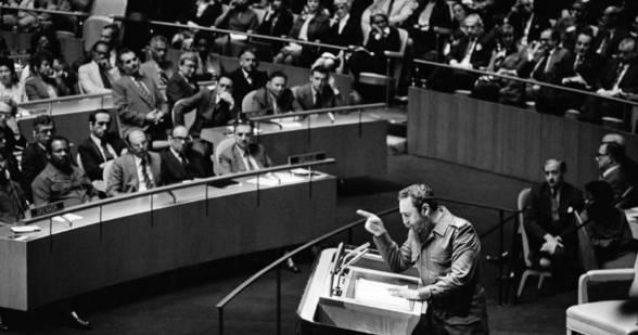 Η Ιστορική ομιλία του Φιντέλ Κάστρο στα Ηνωμένα Έθνη το 1979. [VIDEO με υπότιτλο