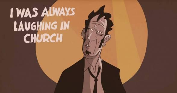 Εικονογραφημένη.. βουτιά στο μυαλό του Tom Waits [animated interview]