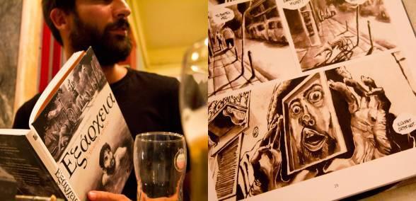 Ένα Εξαρχειώτικο Graphic Novel στο Βέλγιο