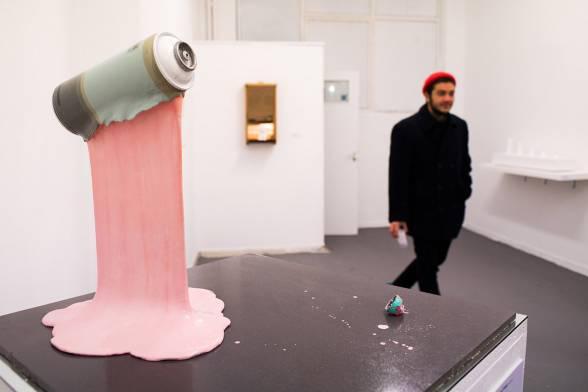 Μια εικαστική έκθεση από έναν streetartist - 'Curving the world' από τον N_Grams