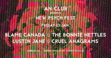 New Psych Fest στο υπόγειο του AN club