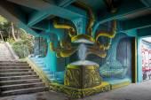 Graffiti στο χώρο της πολυτεχνειούπολης Ζωγράφου
