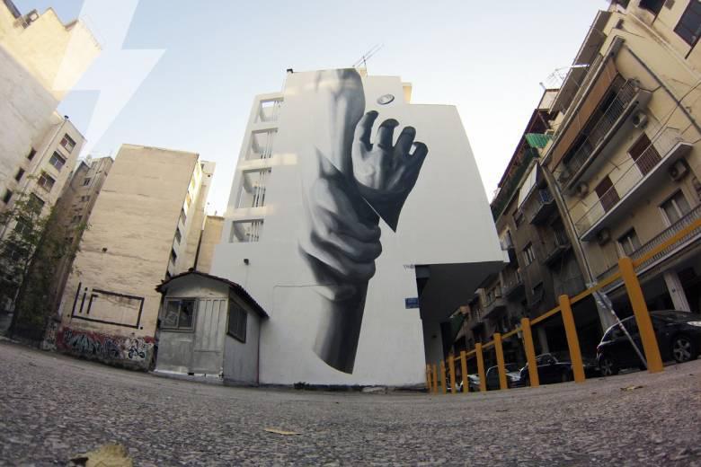 INO Streetart στα Εξάρχεια