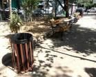 Νέα παγκάκια και κάδοι απορριμάτων στην πλατεία από την Λαϊκή Συνέλευση Εξαρχείω