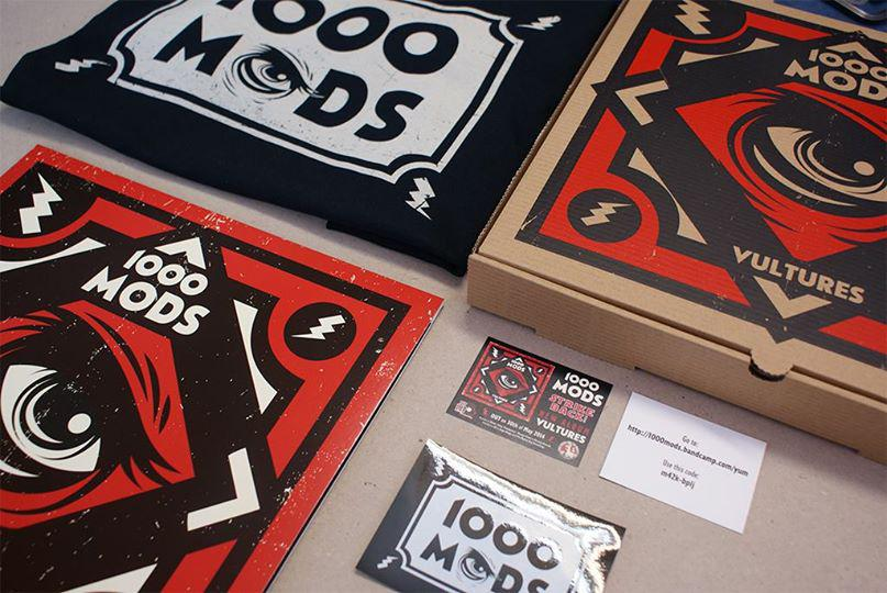 1000 Mods pizza