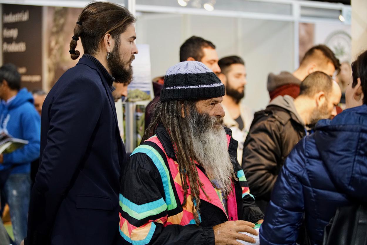 Στιγμιότυπα από την Athens Cannabis Expo 2018