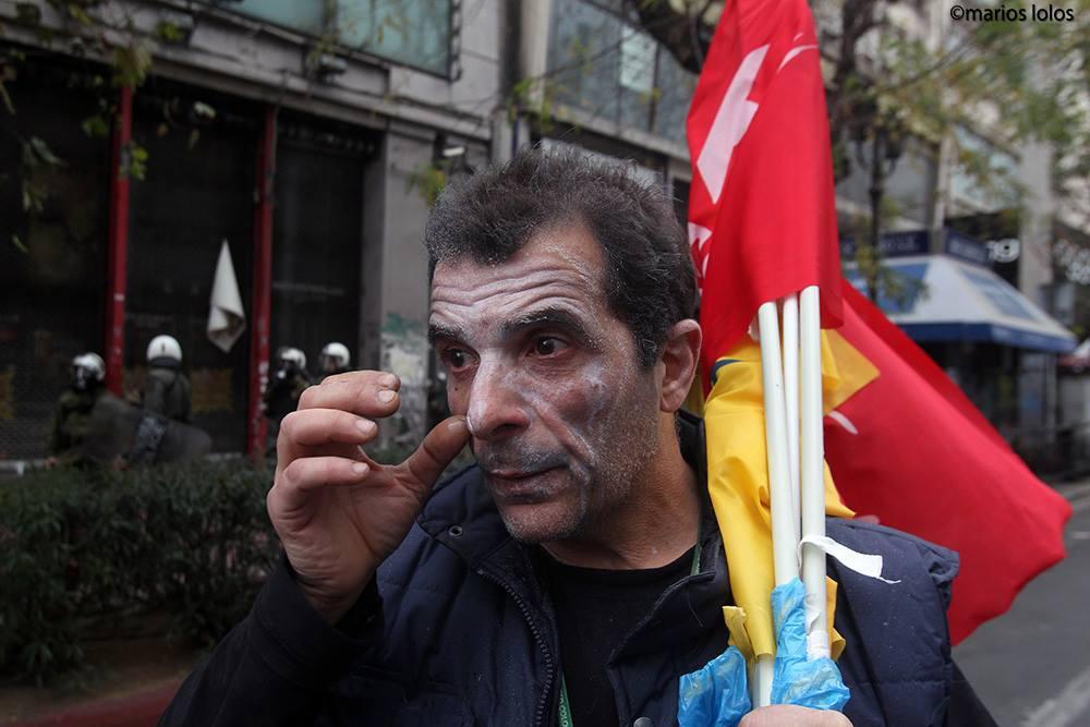 Γενική 24ωρη απεργία. Δυνατές φωτογραφίες του Μάριου Λώλου.