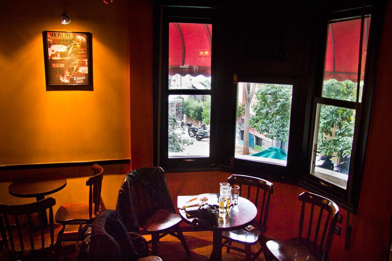 Ίντριγκα καφέ μπαρ - Εξάρχεια