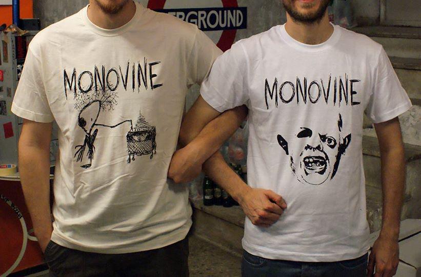 Monovine t-shirts