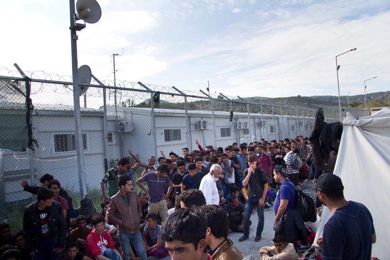 Στρατόπεδο συγκέντρωσης Μόρια