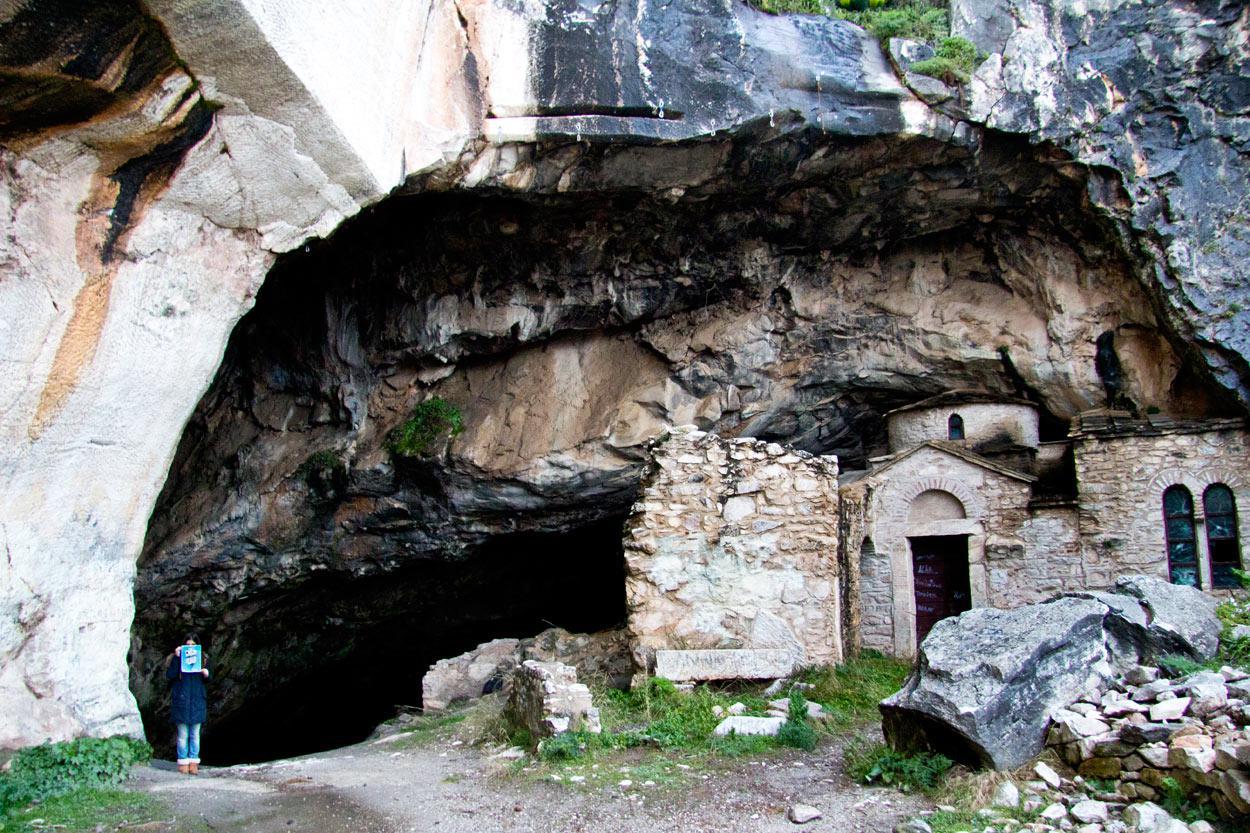 Η σπηλιά του Νταβέλη