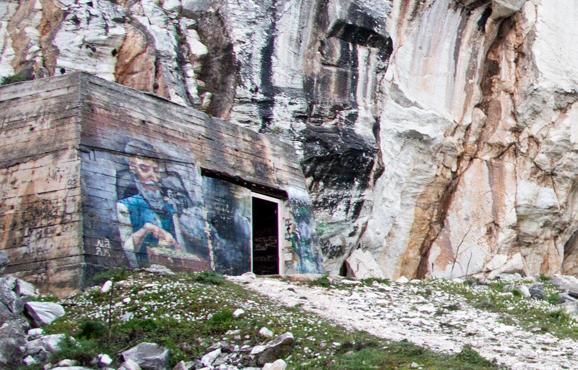Graffiti του Klark