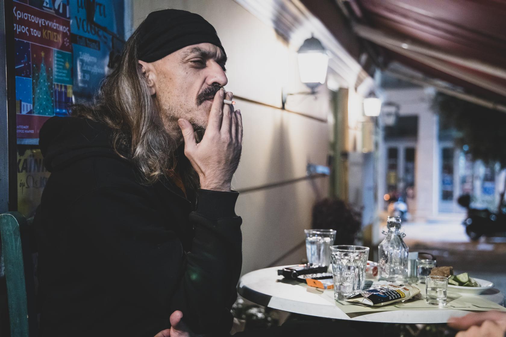 Χαΐνης – Δημήτρης Αποστολάκης: «Εάν δεν υπάρχει αλληλεγγύη, τότε το να  ζούμε μαζί είναι μια καθαρή ανοησία» » Candia Doc