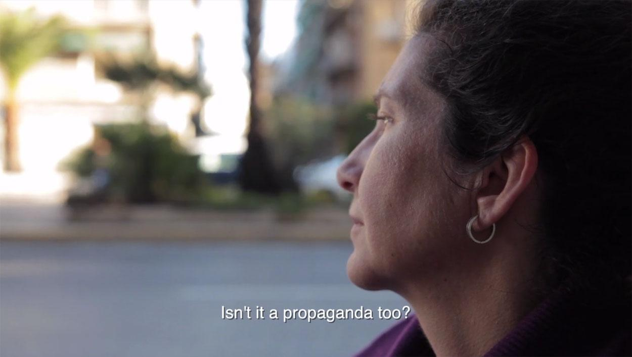 Aggeliki, Blind Employee in Greece