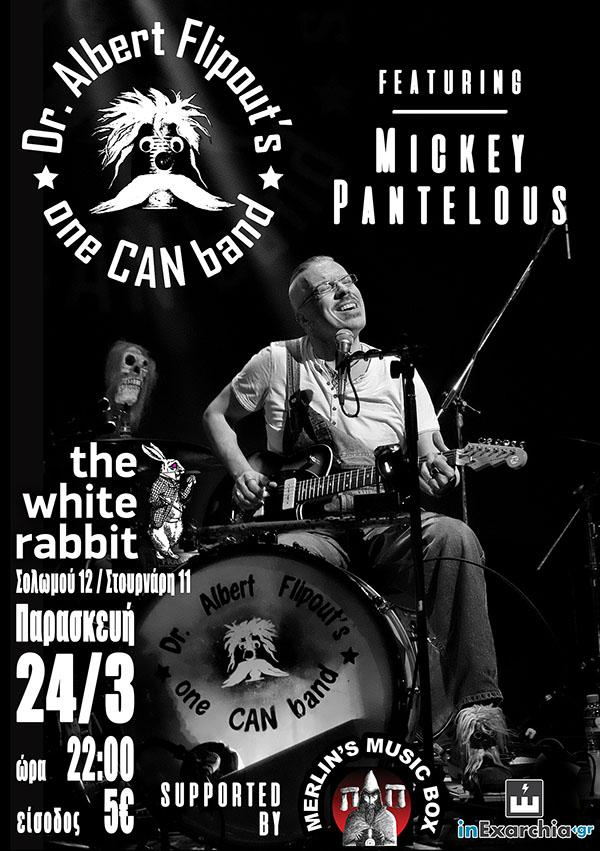 Dr. Albert Flipout's One CAN Band στο White Rabbit