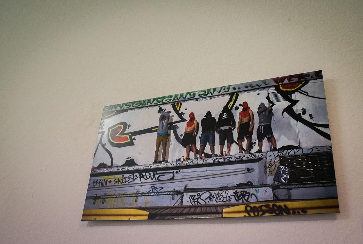 ΝΕΡΑΝΤΖΙΑ - 17 γκραφιτάδες παρουσιάζουν έργα τους στην γκαλερί Sarri 12