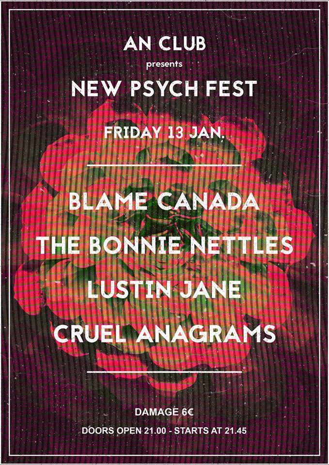 New Psych Fest στο υπόγειο του AN club στα Εξάρχεια