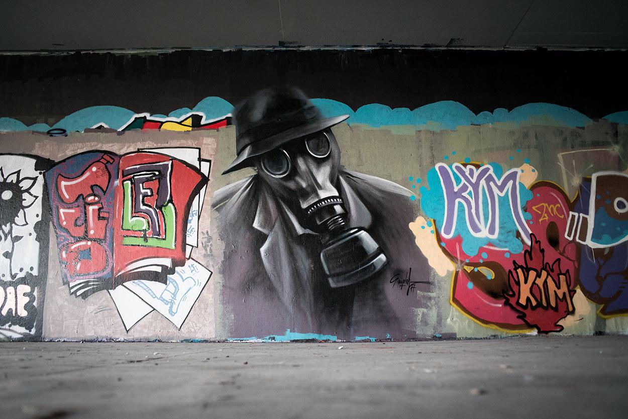Graffiti στο χώρο της πολυτεχνειούπολης Ζωγράφου - inExarchia.gr