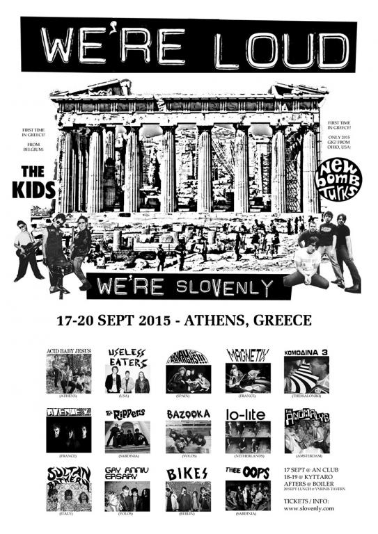 WE 'RE LOUD FEST: 5 μέρες στην Αθήνα με γρήγορο πανκ ροκ