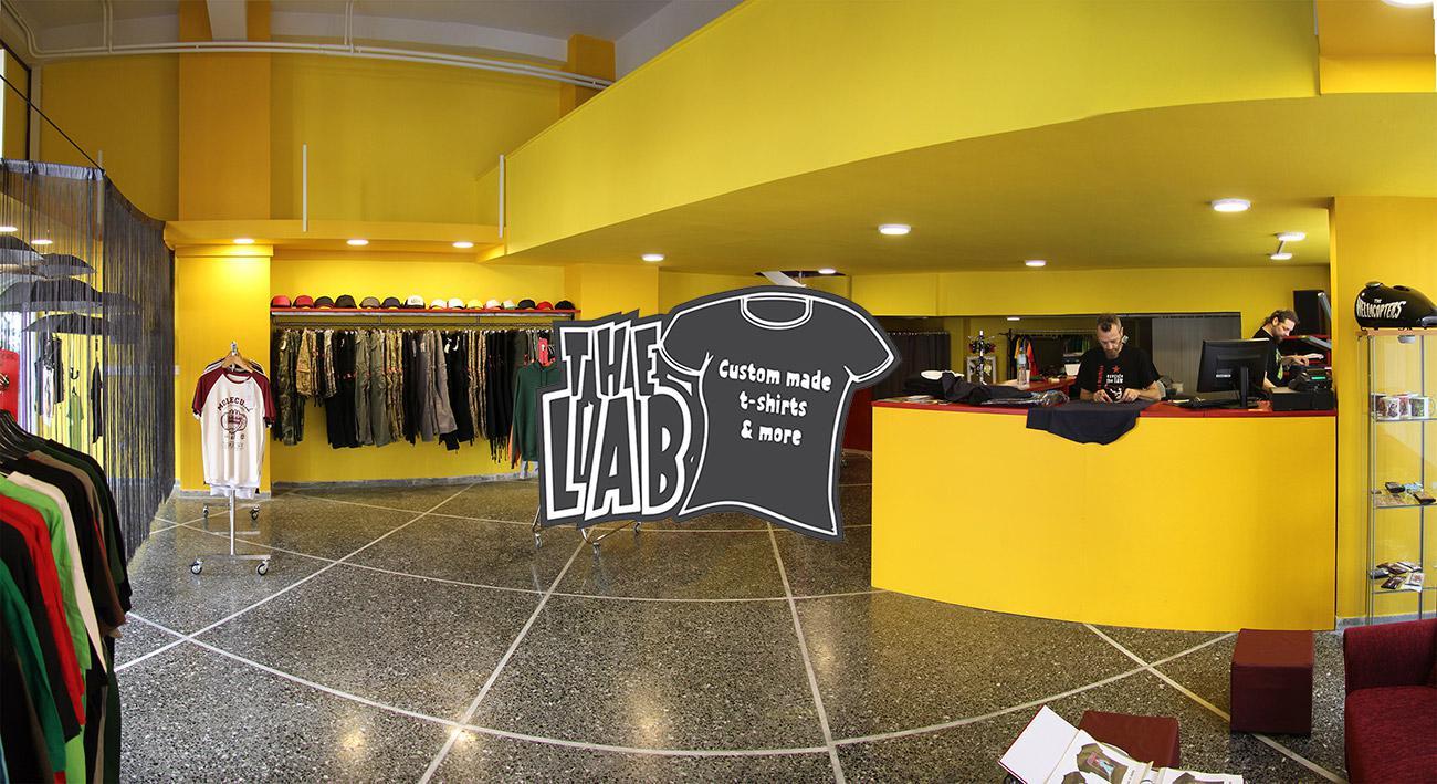 b51bd021c390 The Lab T-shirt Athens στο Κουκάκι - Φόρεσε αυτό που είσαι